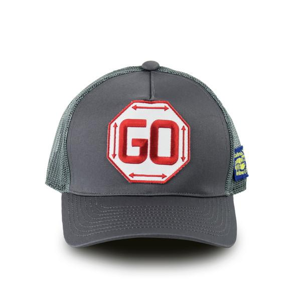 CAP PATCH GO RED YL-6506-GY