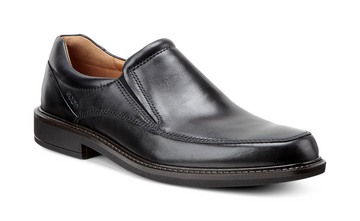 Holton Apron Toe Slip On Blk