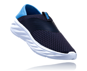 Ora Recovery Shoe Ebony/Blue