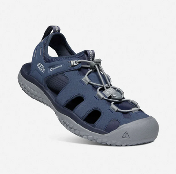 Solr Sandal Navy/Steel Grey