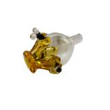 Empire Glass Honey Bee Bubble Cap