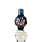 Chaotic Glass Blue Red Eye Tube