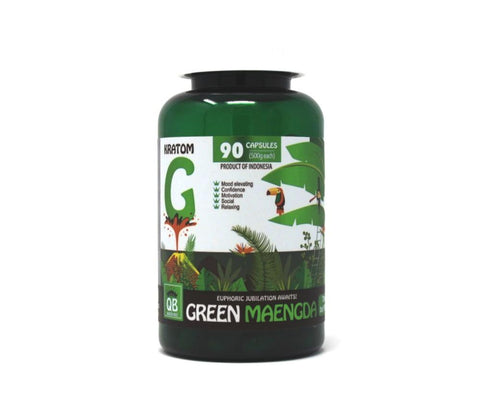 Queen Bee Green Maeng Da Capsules 90ct