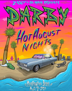 Darby Hot August Nights Poster