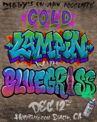 "Bluegrass ""Cold Lampin"" Poster"