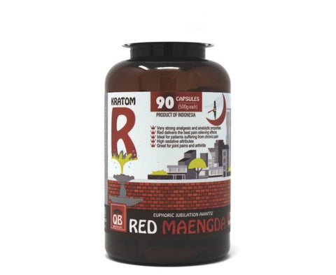 Queen Bee Red Maeng Da Capsules 90ct