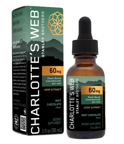 Charlotte's Web 60 mg Maximum Strength Tincture