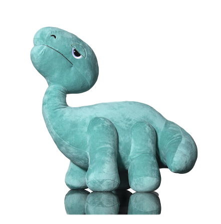 ELBO Green Bronto Plush Toy
