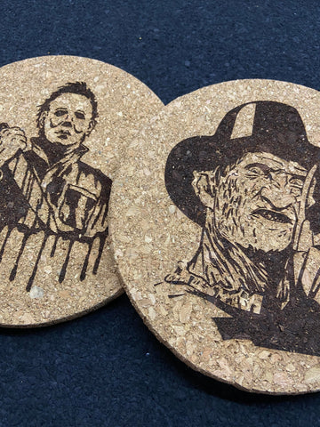 Freddy X Michael cork mats by DarkLazer