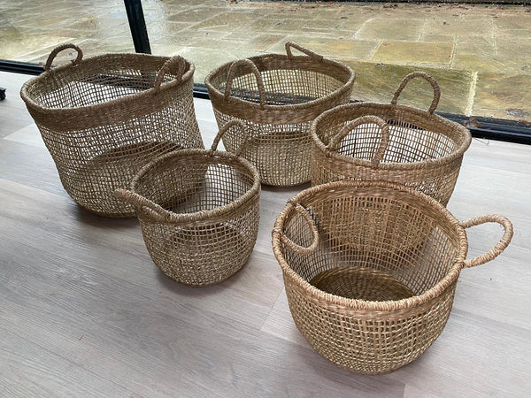 Seagrass Basket Styling