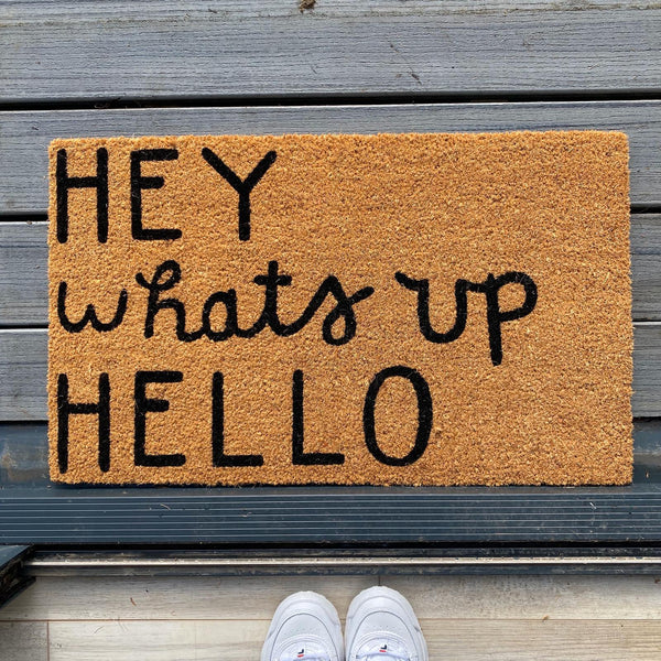Hey What's Up Hello Doormat