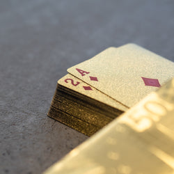 Deck of Gold Cards