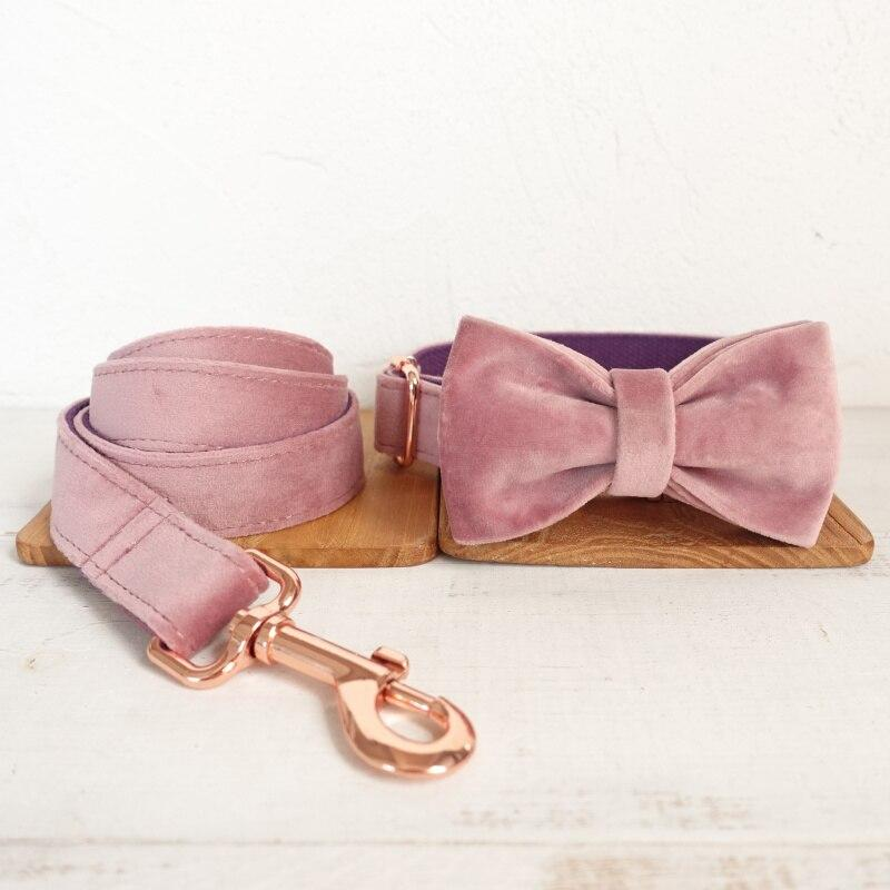 Baby Pink - Dog Lead and Collar - Pampered Paws.shop