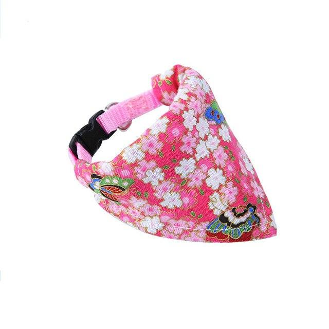 Bandana with Adjustable Collar - Pampered Paws.shop