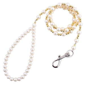 Beaded Pearl Dog Leash - Pampered Paws.shop