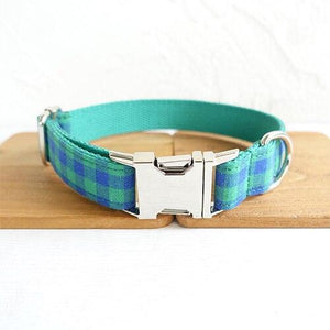 Blue Plaid - Pampered Paws.shop