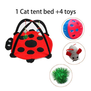 Cat Activity Toy and Bed - Pampered Paws.shop
