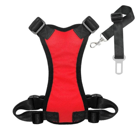 Dog Safety Car Harness Soft Padded Vest - Pampered Paws.shop