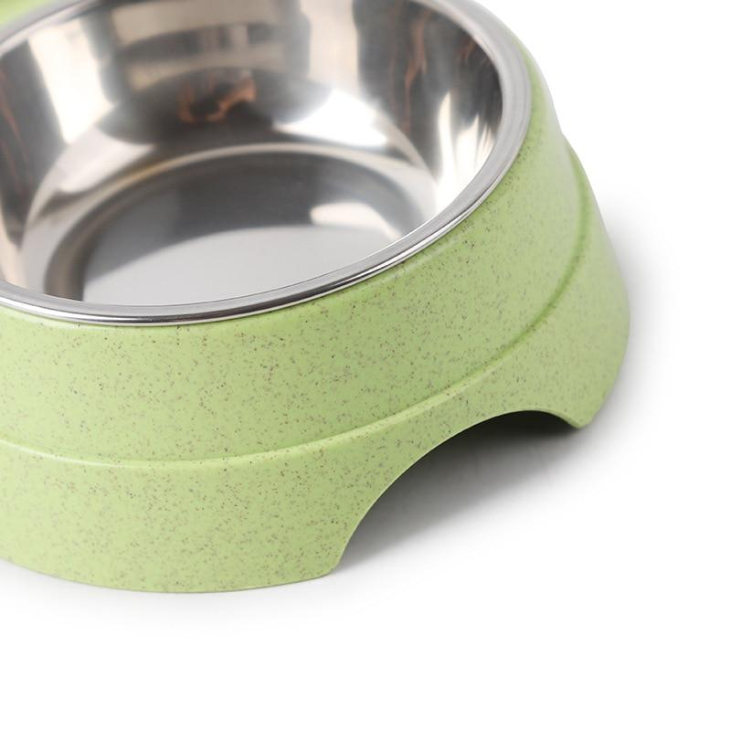Double Bowl Stainless Steel dishes - Pampered Paws.shop