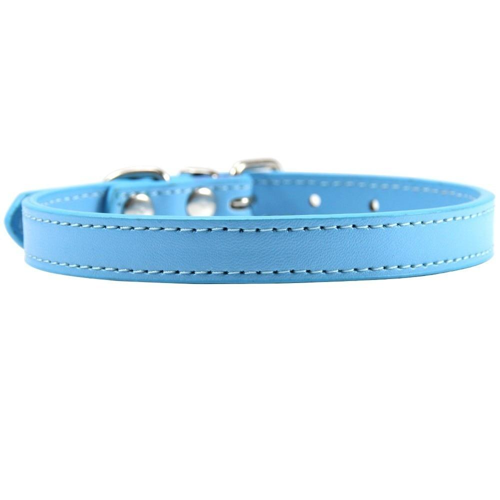 Faux Leather Collar - Pampered Paws.shop