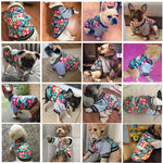 Flower Dog Jacket - Pampered Paws.shop