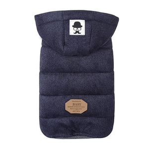 Hooded Cotton Jacket - Pampered Paws.shop