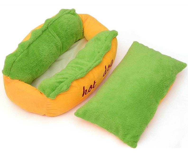 Hot Dog Bed - Pampered Paws.shop