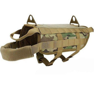 K9 Tactical Adjustable Harness - Pampered Paws.shop