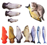 Large Catnip Fish Stuffed Toy - Pampered Paws.shop