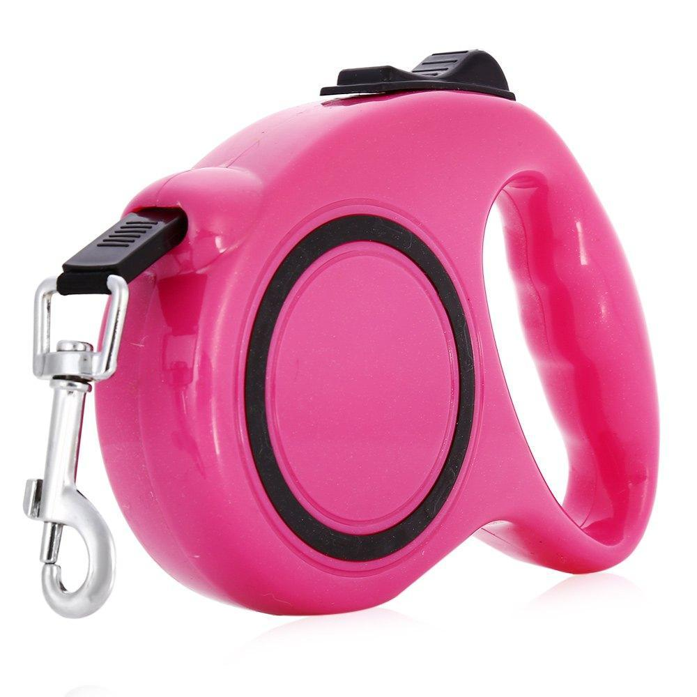 One-handed Lock Retractable Dog Leash - Pampered Paws.shop