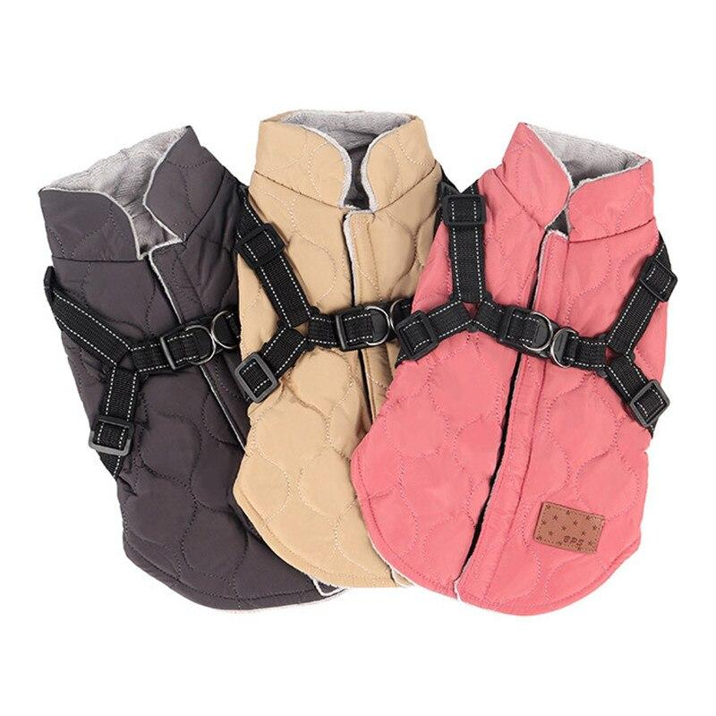 Padded Dog Jacket - Pampered Paws.shop