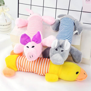 Plush Squeaking Toys - Pampered Paws.shop