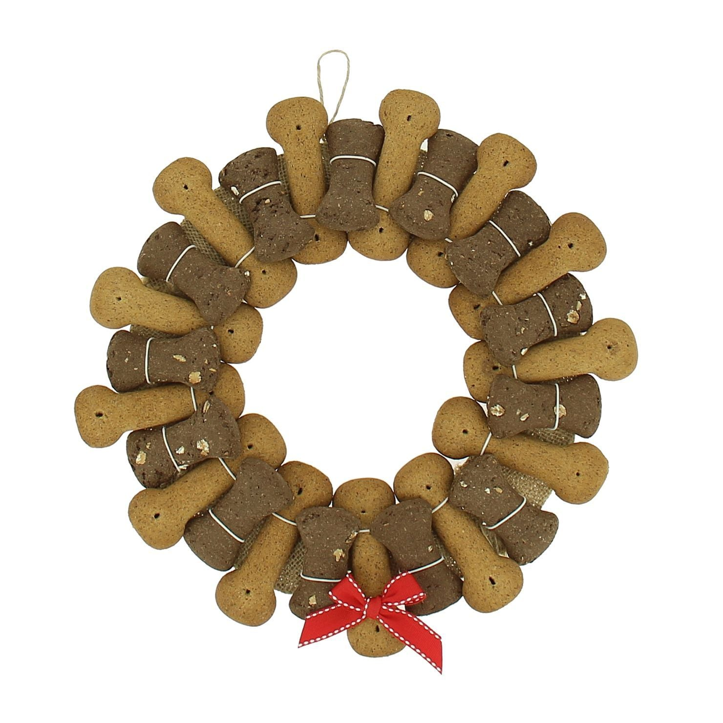Poochi Biscuit Wreath - Pampered Paws.shop