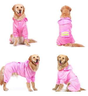 Raincoat Jumpsuit - Pampered Paws.shop