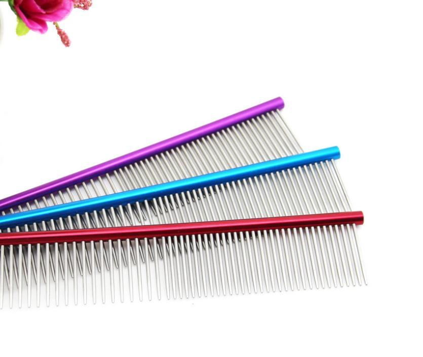Steel Grooming Comb - Pampered Paws.shop