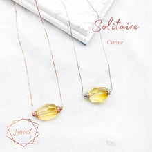 Load image into Gallery viewer, CITRINE SOLITAIRE CRYSTALHEDRA