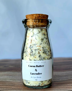 Cocoa Butter and Lavender Milky Bath Soak