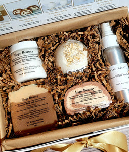 Oatmeal Milk and Honey Collection Gift Box Set