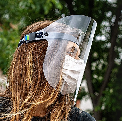 Polaroid Face Shield