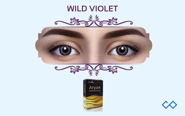 Aryan Color Contact Lenses, 1 Pair - Contact Lenses