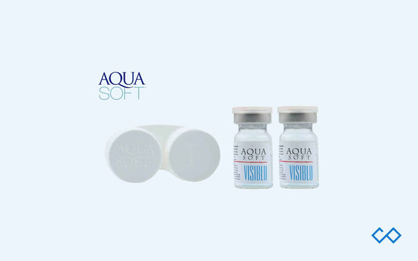 Aqua Soft Visiblu Contact Lenses, 1 Pair - Contact Lenses