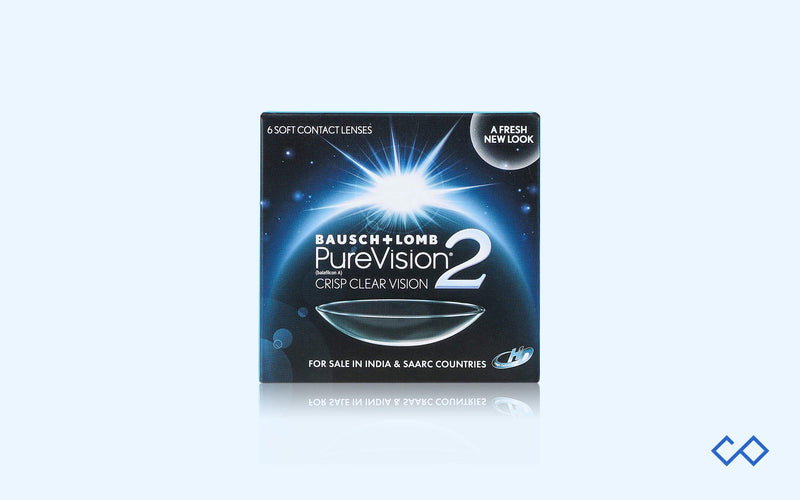 Bausch & Lomb Pure Vision 2 HD Monthly Disposable Contact Lens - Contact Lenses