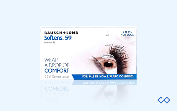 Bausch & Lomb SL 59, Monthly Contact Lenses, 6 Lens Pack - Contact Lenses