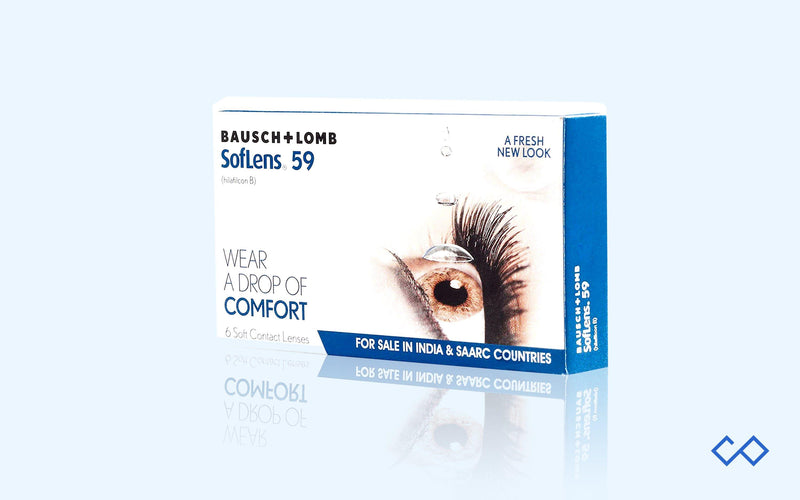 Bausch & Lomb SL 59, Monthly Contact Lenses, 6 Lens Pack