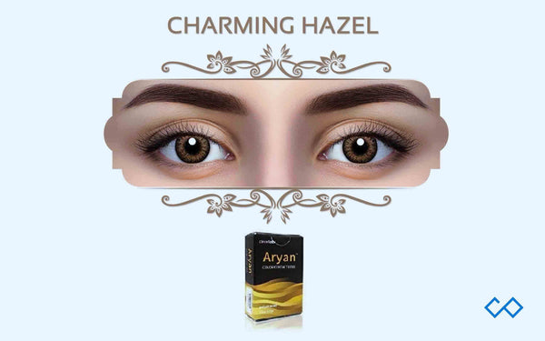 Aryan Quarterly Color Contact Lenses, 1 Pair - Contact Lenses