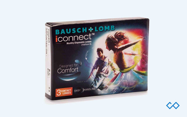 Bausch & Lomb I-Connect Monthly Disposable Contact Lens - Contact Lenses