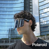 Polaroid Half Face Shield, Mirror Coated - Safety Glass