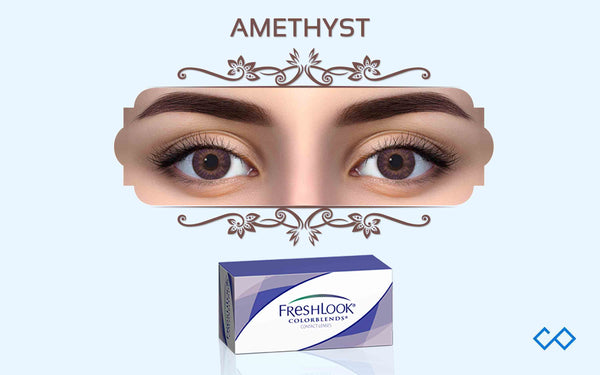 Freshlook Quarterly Color Contact Lenses, 1 Pair - Contact Lenses