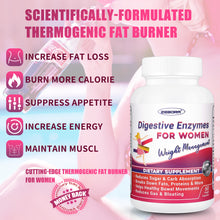Load image into Gallery viewer, Probiotics-for-Women Vegan Weight-Loss Supplement Metabolism-Booster