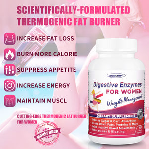 Probiotics-for-Women Vegan Weight-Loss Supplement Metabolism-Booster